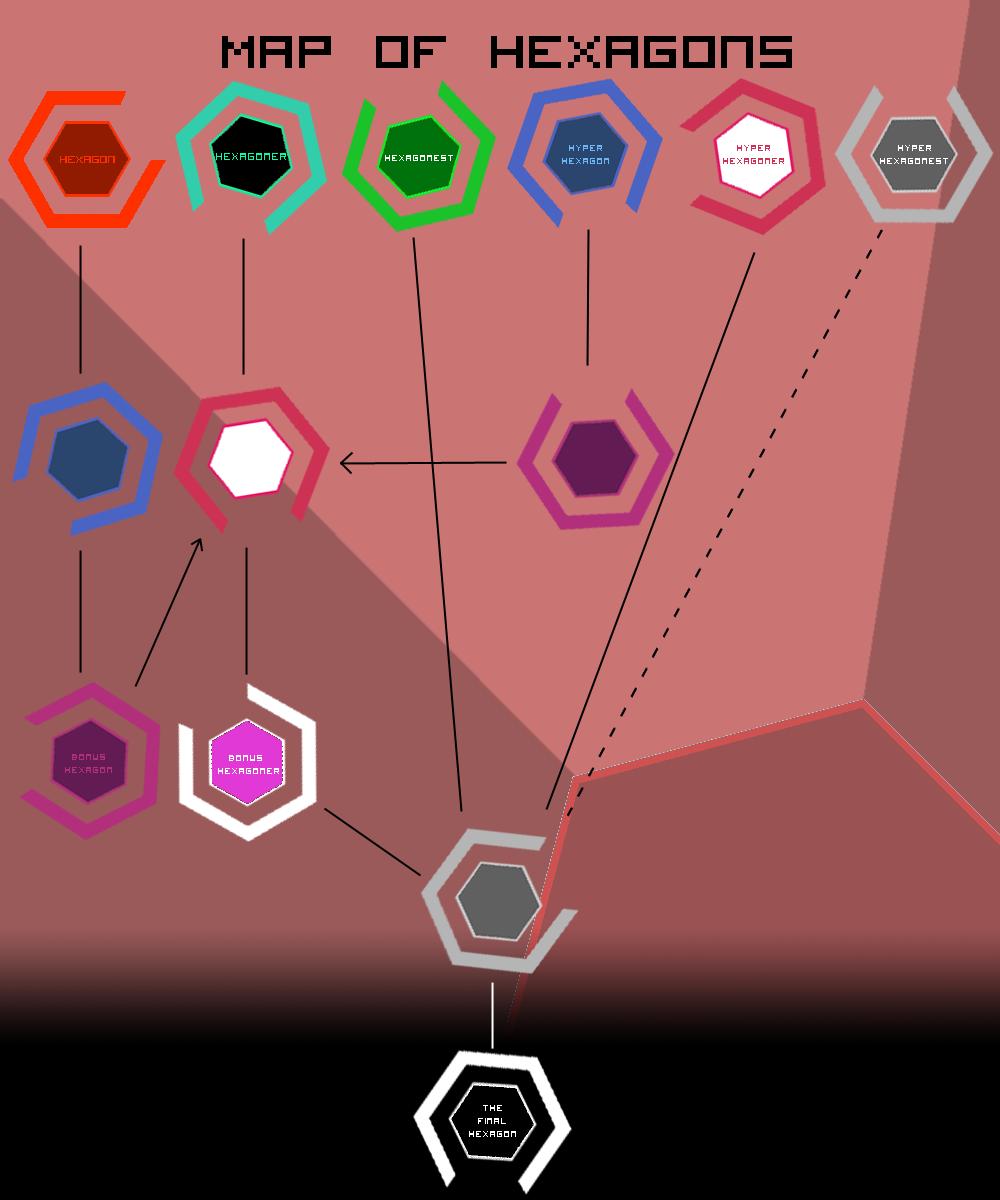 Map of Hexagons